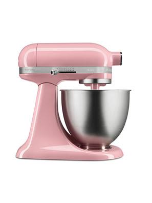 Máy trộn đứng đầunghiêng KitchenAid Artisan® Mini màu hồng