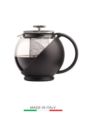 Bình pha trà Bialetti 1.25 lít bằng thủy tinh (Made in Italy) - 0003320/NW