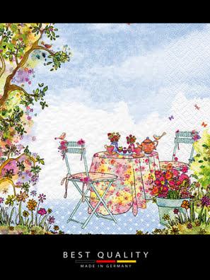 Khăn giấy ăn trang trí bàn tiệc ti-flair Tissue napkins DESIGN 33x33cm - 363411