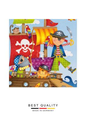 Khăn giấy ăn trang trí bàn tiệc ti-flair Tissue napkins DESIGN 33x33cm - 371738